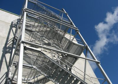Stair tower 2